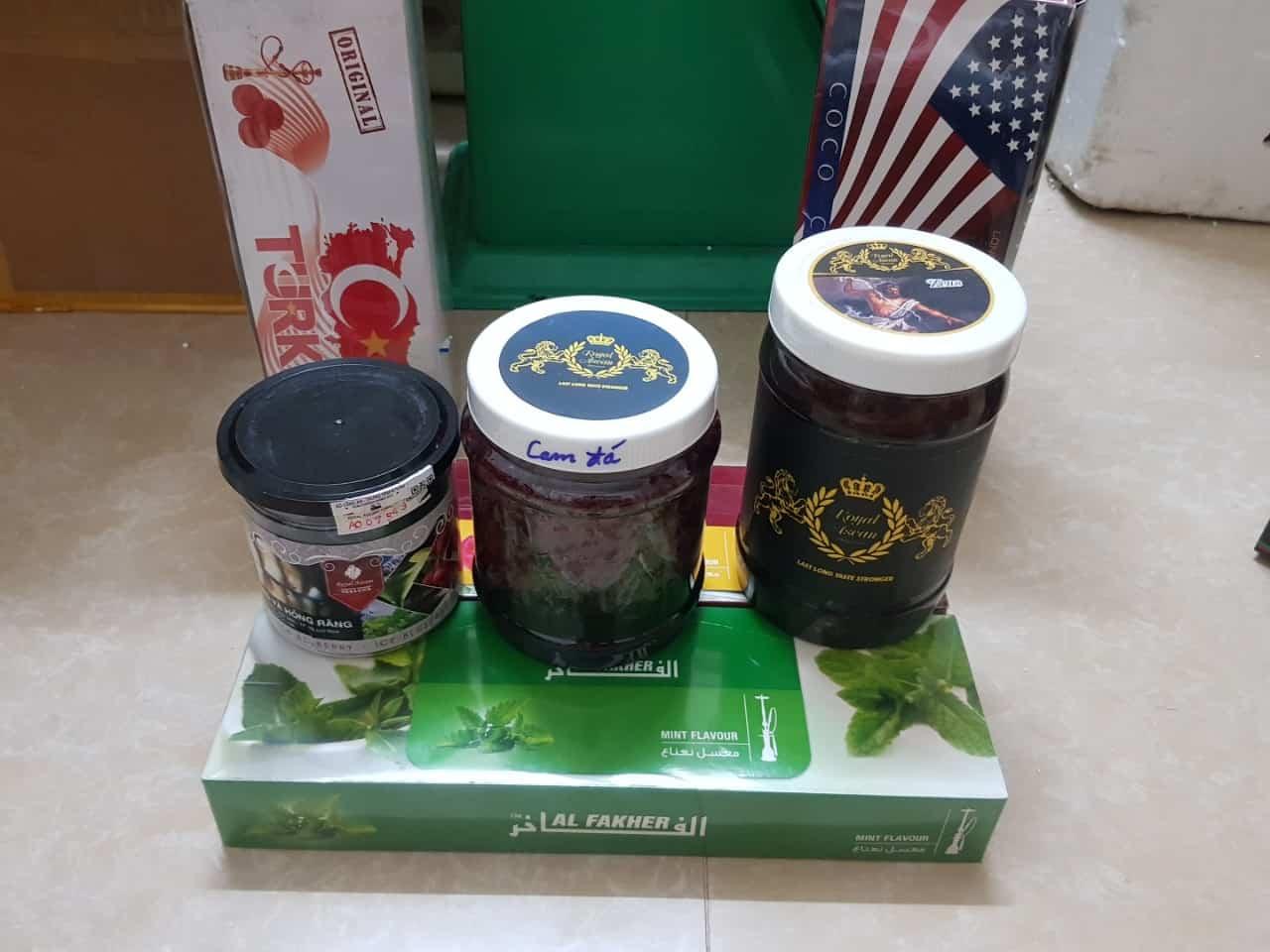 Các hộp đựng thuốc Royal Asean của Gamiecocharm